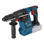 Bosch GBH18V-26F+GDE18V SDS Plus Rotary Hammer with Dust Extraction Kit & 2 6.0Ah Batteries