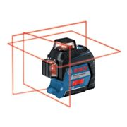 Bosch Gll 3-80 Professional Self-Levelling Multi Line Laser In Carry Case - 0 601 063 S00