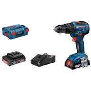 Bosch GSB18V-55 18V Combi Drill With 2 x 2.0Ah Batteries
