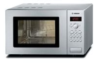 Bosch HMT75G451B Compact Microwave Oven with Grill Stainless Steel 17L