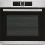 Bosch Serie 8 HRG635BS1B Built In Electric Single Oven with added Steam Function - Stainless Steel - A+ Rated