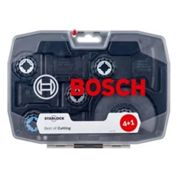 Bosch Starlock 5 piece Multi-tool kit