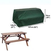 Bosmere Picnic Table Cover - 6 Seat