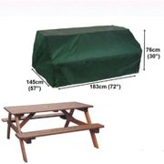 Bosmere Picnic Table Cover - 8 Seat