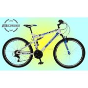 Boss Astro 26″ Mens Dual Suspension Mountain Bike - 18 Speed Gears