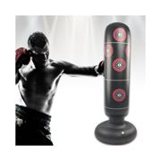 Boxing Punching Bag Sand Bag Inflatable Free-Stand Boxing Punching Kick Training Sand Bag Quarantine Indoor Sports