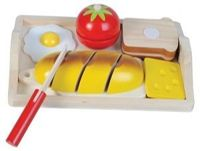 Breakfast cutting set incl tray - New Classic Toys (0582)