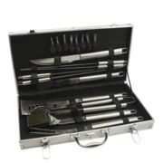 Bredemeijer - Leopold Vienna Barbecue Case With 18 Pieces