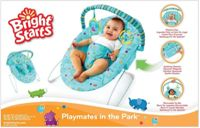 Bright Starts - Playmates in the Park Baby Bouncer 7166