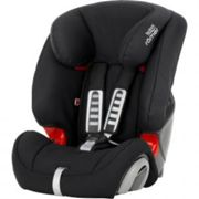 Britax Romer EVOLVA 123 Group 1/2/3 Car Seat - Cosmos Black, Black