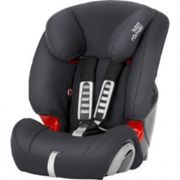 Britax Romer EVOLVA 123 Group 1/2/3 Car Seat, Grey