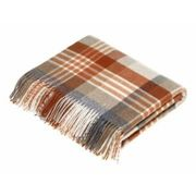 Bronte by Moon - Saffron Melbourne Check Pure New Wool Throw