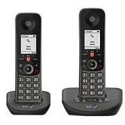 BT Telephone Advance Twin Black