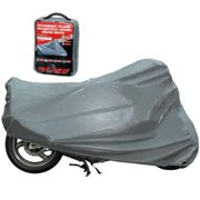 Büse Motorcycle Cover Outdoor, silver, size 2XL