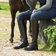 Busse Children's Turin Riding Boots Size UK 2 (EU 34)