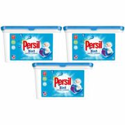 (Buy - 3 - Non-Bio Capsules) 3pk Persil 3-in-1 Washing Capsules | Value Pack Powercaps to Last 38 Washes