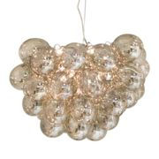 By Rydéns Gross ceiling lamp large amber