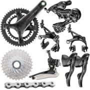 Campagnolo Record Groupset (12 Speed) - 172.5mm 34/50-11/32t Black Black