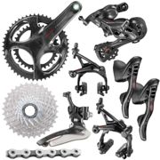 Campagnolo Super Record Groupset (12 Speed) - 175mm 34.50T 11-32t Black