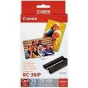 Canon CP Series Inkjet Cartridge and Papers Set KC-36IP