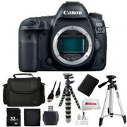 Canon EOS 5D Mark IV DSLR Camera Body Bundle