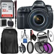 Canon EOS 5D Mark IV DSLR Camera with 24-105mm f/4L II Lens and Access