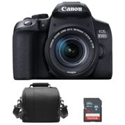 CANON EOS 850D KIT EF-S 18-55mm F4-5.6 IS STM Black + camera Bag + 16GB SD card