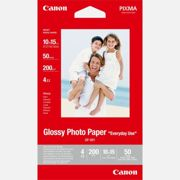 "Canon GP-501 Glossy Photo Paper 4x6"" - 50 Sheets"