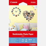 """Canon RP-101 Removable Photo Stickers, 4x6"""", 5 sheets"""