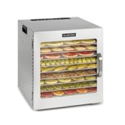 Captain Jerky 110, Food Dehydrator, 1000W, 30-90 ° C, 24h Timer, Stainless Steel