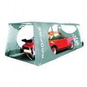 Carcoon Veloce Indoor Car Storage System - Size Large In Silver, Silver