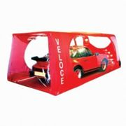 Carcoon Veloce Indoor Car Storage System - Size Medium In Red, Red