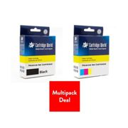 Cartridge World Ink Cartridge - Compatible with HP 301XL Multipack - Black/Colour