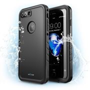 Case I-BLASON NexCase Waterproof Rugged for iPhone 7 PLUS with Built-in Screen Protector - BLACK