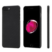 Case Pitaka Aramid CARBON FIBER for Apple iPhone 7 PLUS 8 PLUS - BLACK - KI7001S