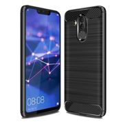 Case TECH PROTECT CARBON for HUAWEI MATE 20 LITE - BLACK