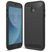 Case TECH PROTECT CARBON for Samsung Galaxy J3 2017 - BLACK