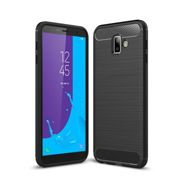 Case TECH PROTECT CARBON for Samsung Galaxy J6+ PLUS 2018 - BLACK