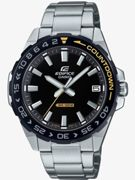 Casio Exclusive Casio Edifice Black And Yellow Detail Dial Stainless Steel Bracelet Mens Watch One Colour