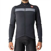 Castelli Puro 3 Long Sleeve Cycling Jersey - SS21 - Red / 2XLarge Red 2XLarge