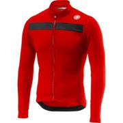 Castelli Puro 3 Long Sleeve Jersey - Red - XS, Red