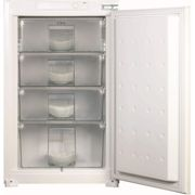 CDA FW482 99 Litre Integrated In Column Freezer 88cm Tall Fast Freeze 54cm Wide - White