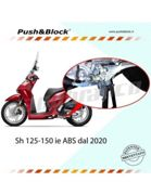Central stand anti-theft HONDA SH 125 / 150ie ABS from 2020