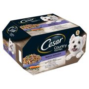 Cesar Alutrays Dog Food - Country Kitchen - 8 x 150g Alutrays