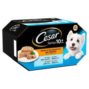Cesar Senior 10+ Favourites in Jelly Dog Food - 8 x 150g Alutrays