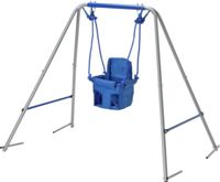Chad Valley Toddler Garden Swing - Blue