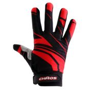 Chaos Adult Motorbike Quad Bike Motocross Gloves Red