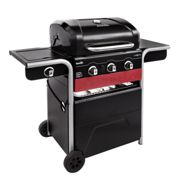 Char-Broil Gas2Coal 330 Hybrid Grill 3 Burner Gas & Coal Barbecue Grill (Black)