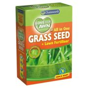 Chatsworth All in One Grass Lawn Seed & Fertiliser Fast Growing 375g