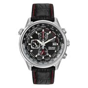 Citizen Red Arrows Black Leather Strap Chronograph Watch